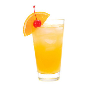 Harvey wallbanger cocktail