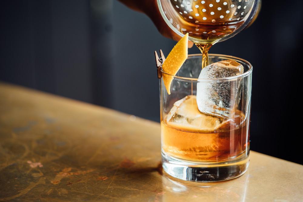 cocktail per l'inverno e la montagna